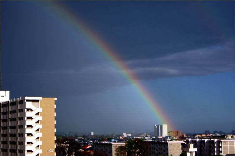 春雷と虹と雲と夕焼鳥 - MAICOの...