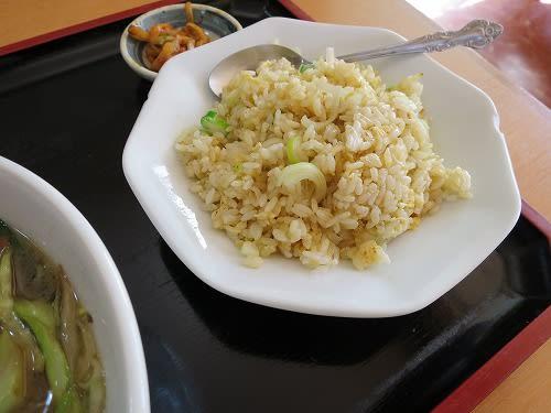 豚肉入り野菜タンメン+半チャーハン