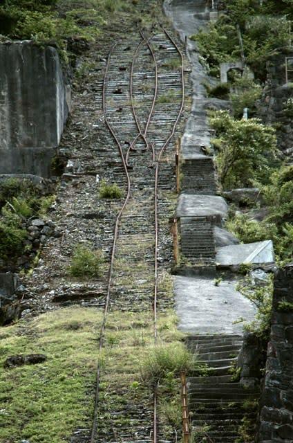 神子畑選鉱場・インクライン