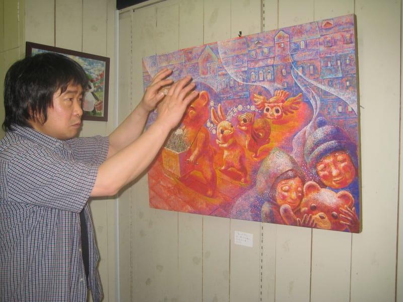 絵画展見学