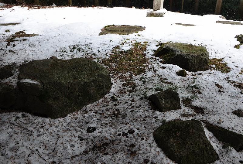高宮廃寺礎石