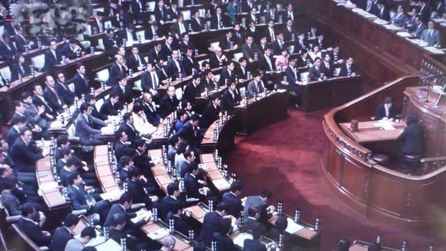 衆議院本会議場 衆議院代表質問が行われた衆議院本会議場です。 民主党で前政権を担当され... 趣