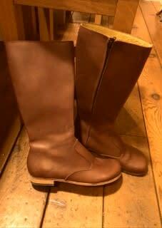 履き込んでみてからが、自作靴の本髄と思うので、しばらく歩いてみて、不具合があればまた調整していきましょう。