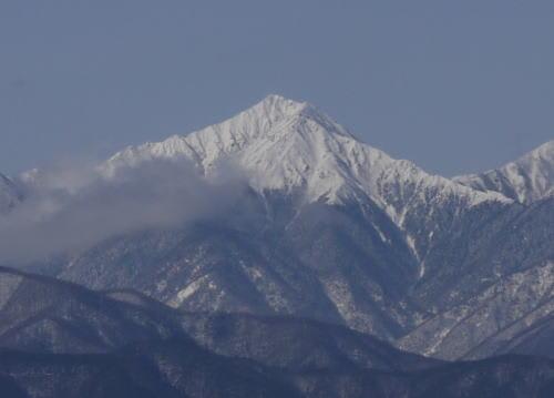 常念岳 2011/1/28