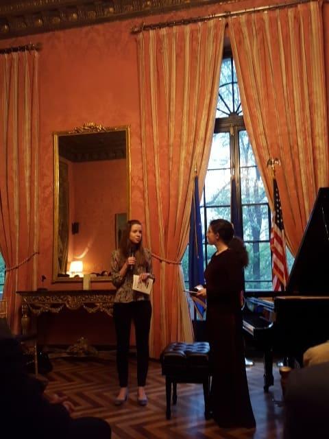 ピアノコンサート@フランス領事館