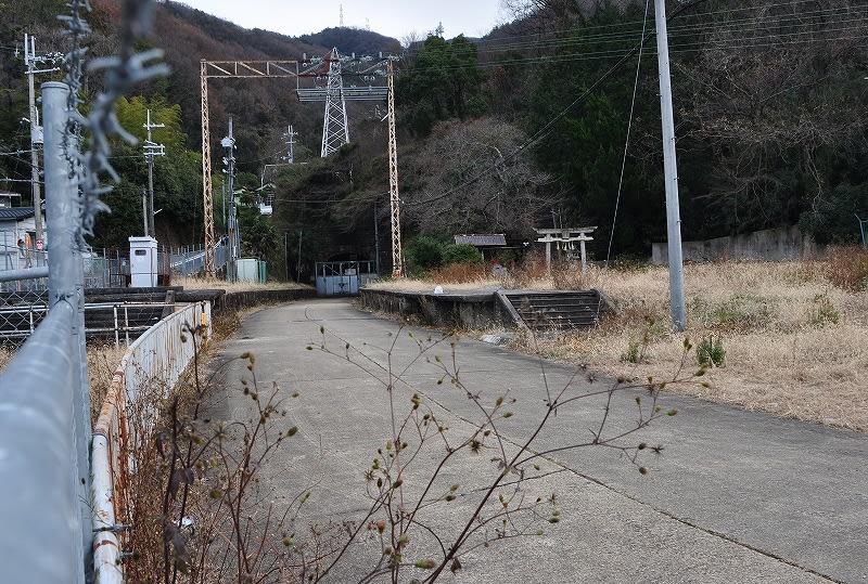 旧生駒トンネル前