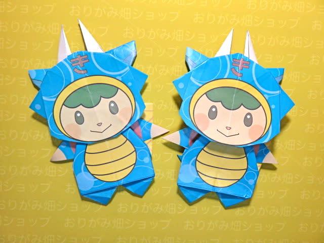 クリスマス 折り紙 折り紙キャラクターの折り方 : blog.goo.ne.jp