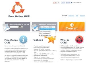 free online ocr pdf to word