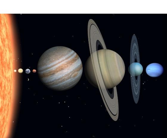 ●太陽系8惑星 私たち人類が住んでいる惑星・地球。その地球が属している... −太陽系−
