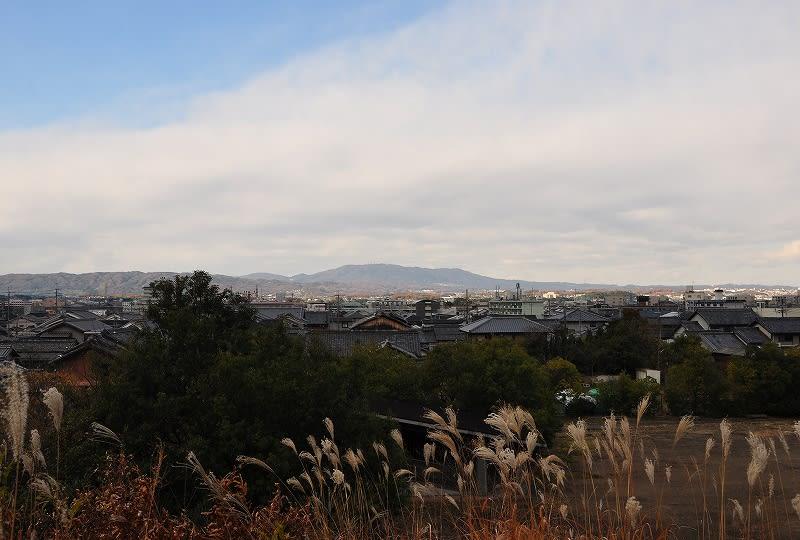 杉山古墳から生駒山