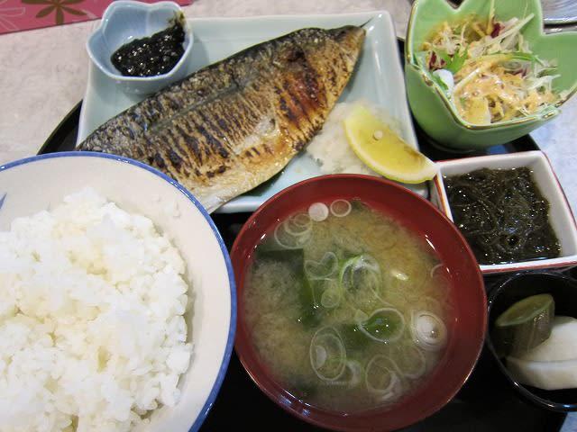 今日の焼魚定食