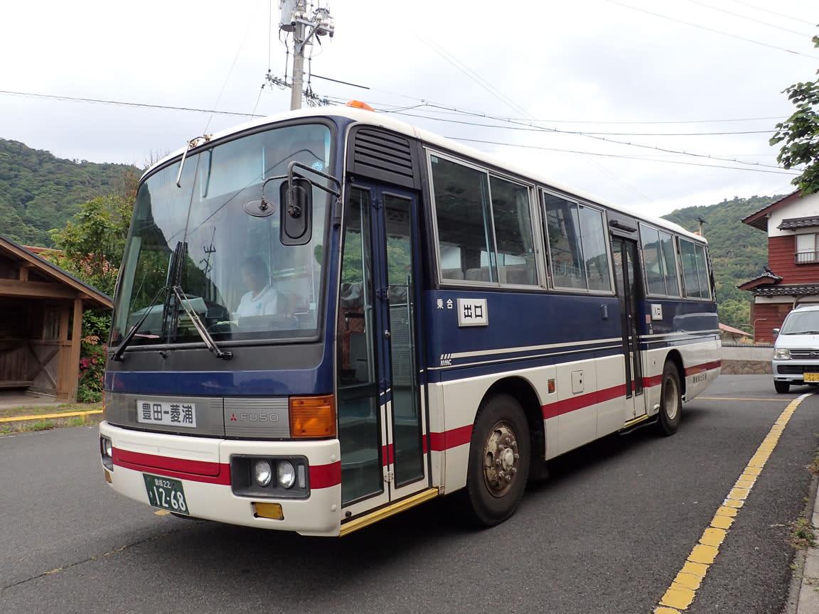 隠岐海士交通の路線バス~小規模...