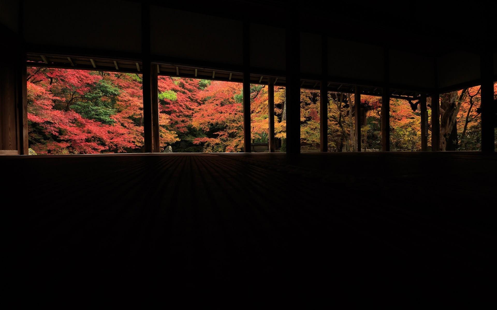 16年紅葉の京都 蓮華寺の壁紙 計24枚 壁紙 日々駄文