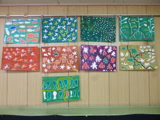 先生の絵画の研修を行いました ... : 絵の具 色の作り方 : すべての講義
