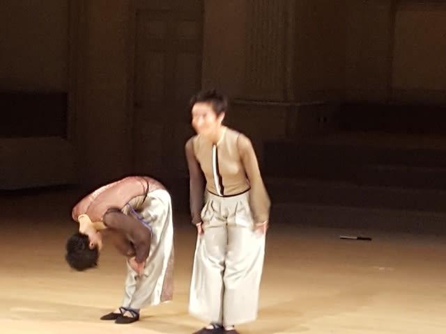 余越保子さん振り付けのコンテンポラリーダンス〜ZERO ONE〜