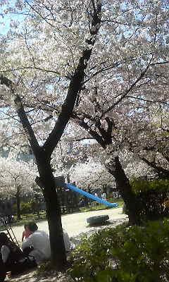 大阪城近くの公園