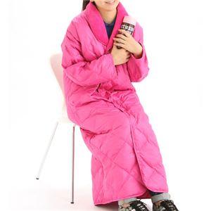 着る羽毛布団 U-MO(ウーモ) 着る羽毛ガウン チェリーピンク