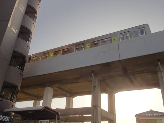 東山線藤が丘駅の先の引き上げ線