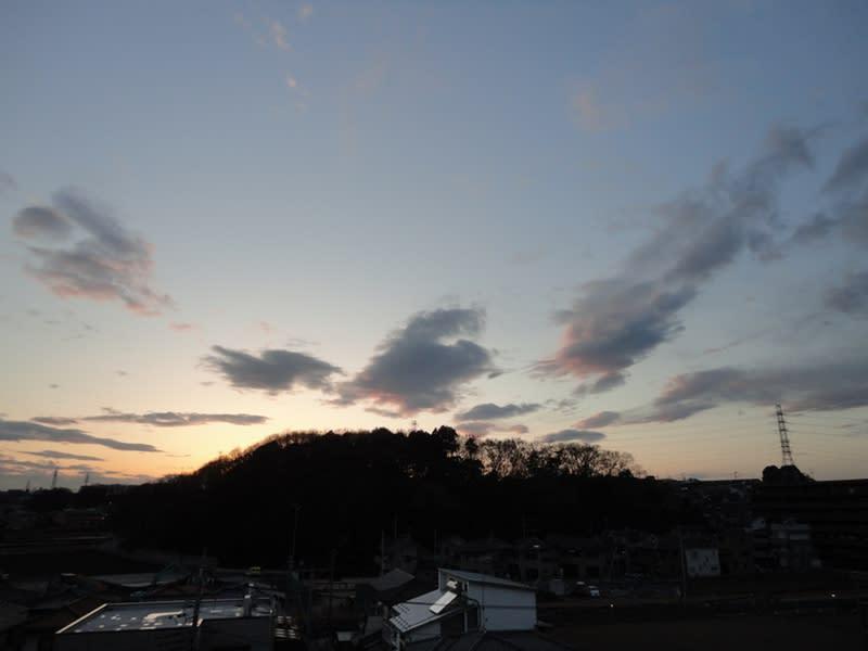 02月24日 夕暮れの根岸台