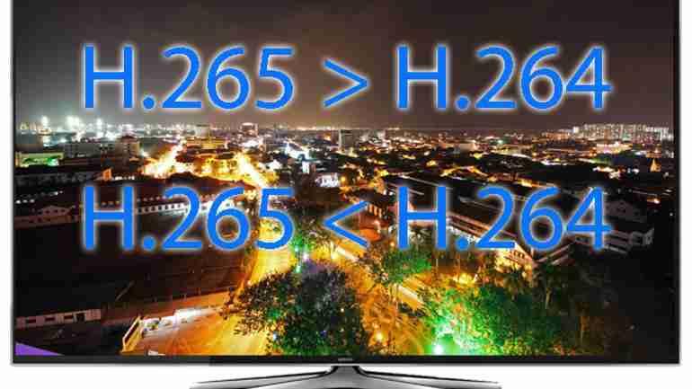 H265, h264, mjpeg kodlama desteği
