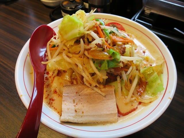 ボウボウ野菜(赤)3辛