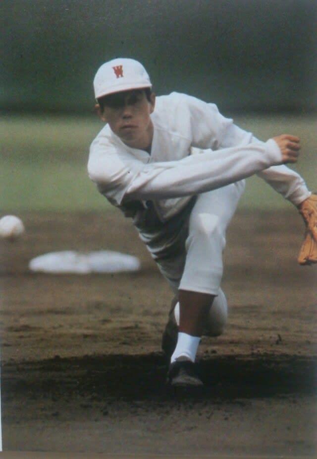 向田投手の投球は、吉野くんほどの下手投げではなく、どちらかといえばサイドスローに近かったと記憶し