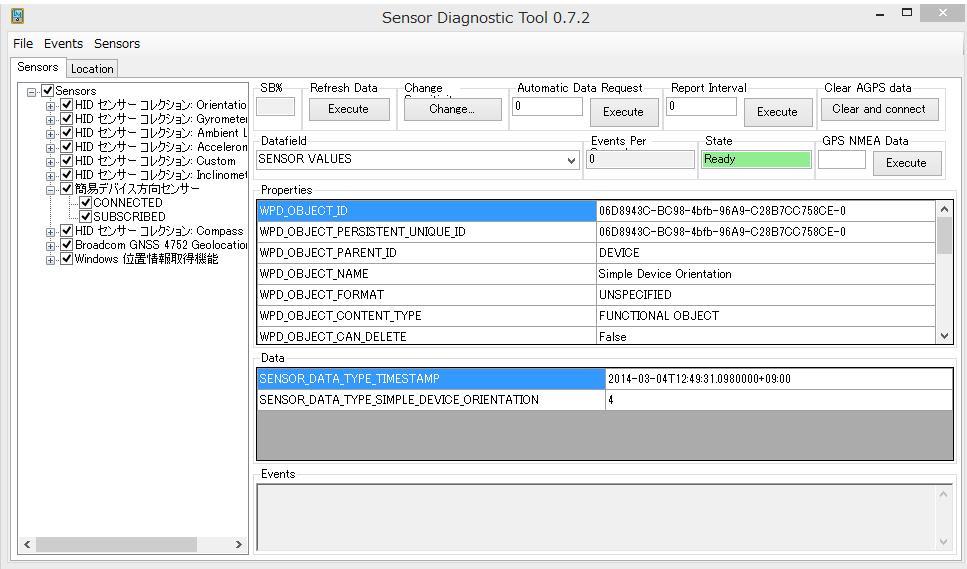 Broadcom gnss geolocation sensor