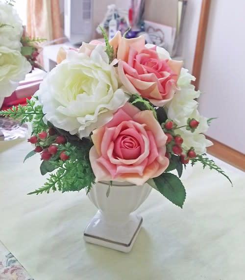 千葉市のラコリーヌのお花の教室【アーティフィシャルフラワー】