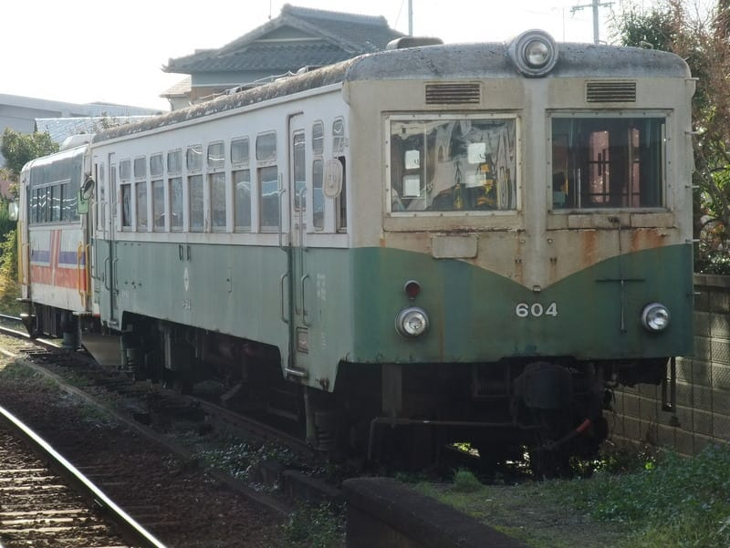 紀州鉄道旧型気動車