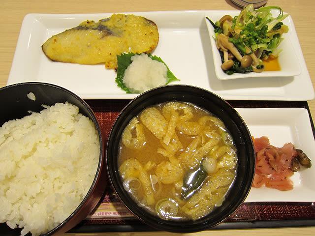 さわらの西京焼き定食