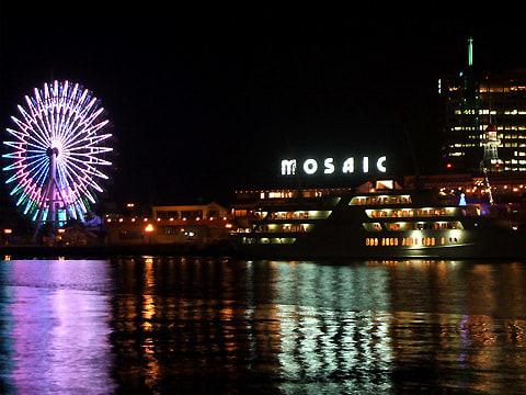 神戸ハーバーランドモザイクの夜景