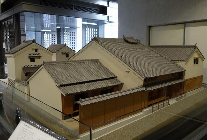青田家住宅模型