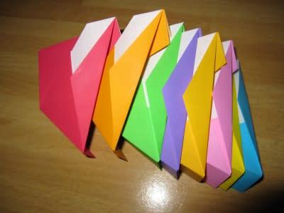 ハート 折り紙 折り紙 八角箱 折り方 : divulgando.net