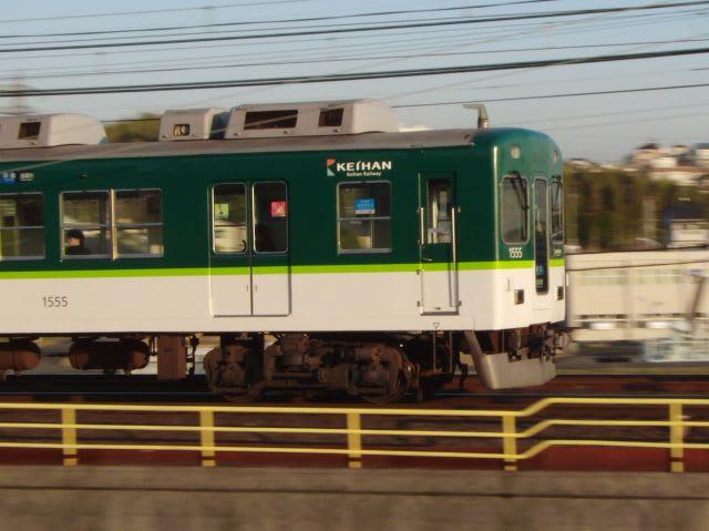 京阪1000系後追い流し撮り