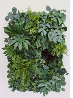 壁 造花フェイクグリーン パネル