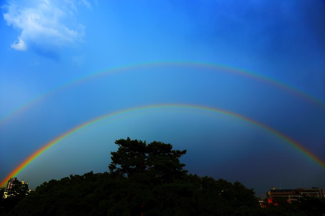 虹の架け橋 - じんの写真ブログ