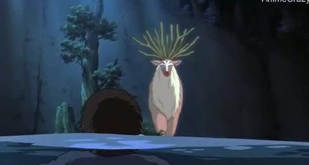 エボシの放った石火矢はシシ神を貫きました。 ものともしないシシ神。 ↑...  もののけ姫に魅せ