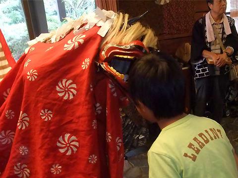 湯泉神社の秋祭り