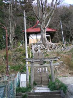 湯谷神社参道