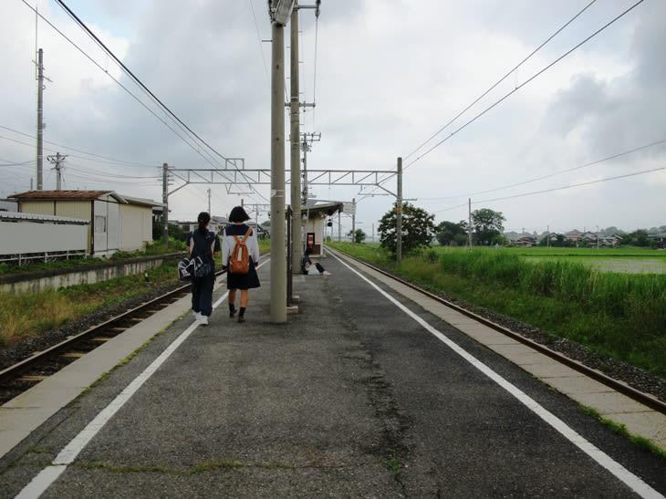 岸本駅 伯備線 - 観光列車から!...