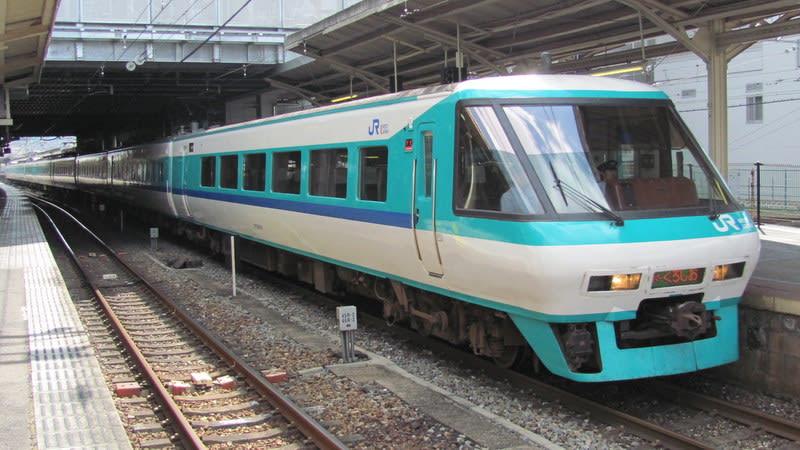 381系特急「スーパーくろしお」パノラマグリーン車