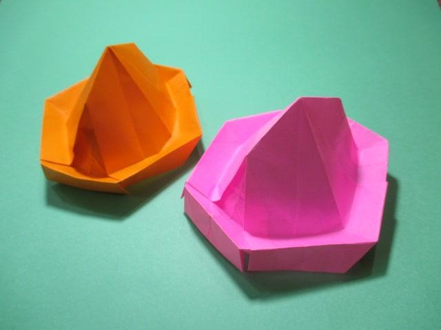 ハート 折り紙 折り紙 帽子 立体 : blog.goo.ne.jp