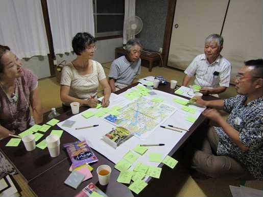 移住、定住促進のためのワークショップ