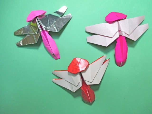 簡単 折り紙 折り紙 トンボ 折り方 : blog.goo.ne.jp