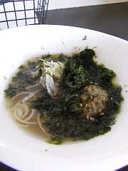 キビナゴのつみれスープ