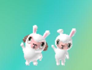 メイドのメイちゃんもウサギスタイル