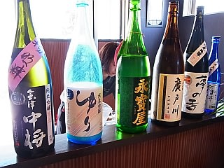 NOMDOS で提供される6酒類