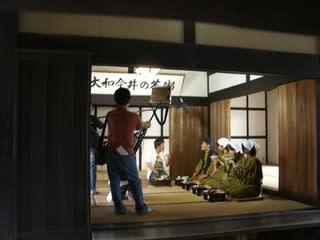先日、奈良テレビの「気ままに歩こーく!」の撮影が行われました。 今井小学...  今井町町並み保