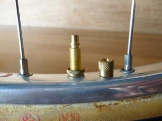 競輪バルブの構造と使用パーツ ...