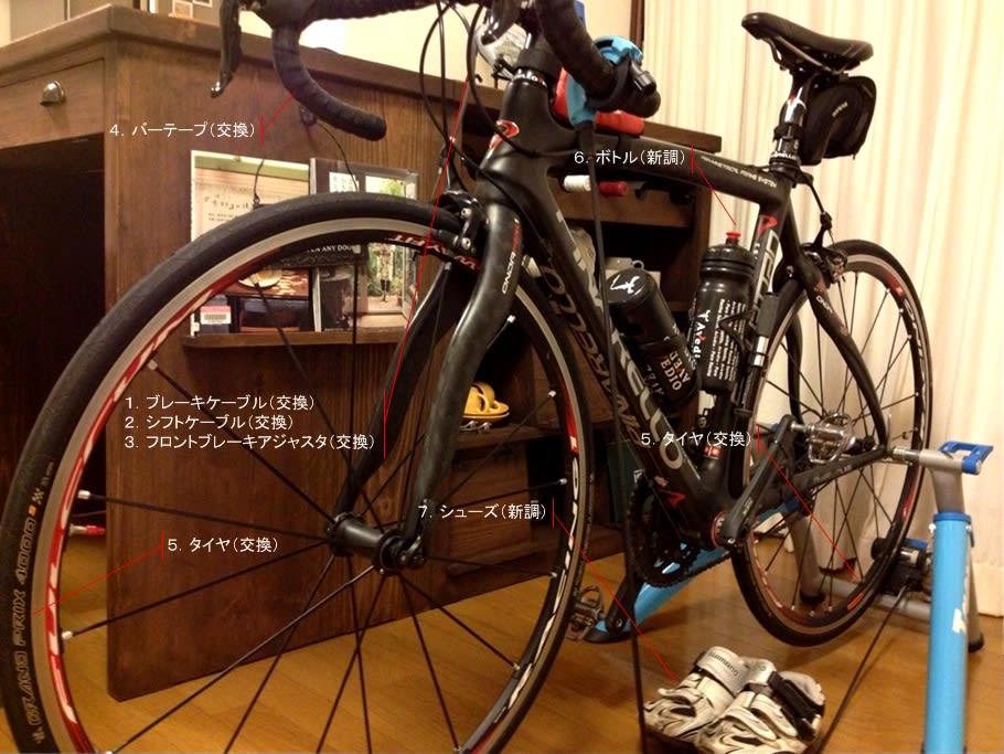 自転車の 自転車のタイヤ交換 自分で : ケーブル類の交換作業を自分で ...